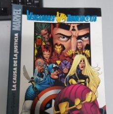 Fumetti: VENGADORES THUNDERBOLTS : LA CAUSA DE LA JUSTICIA ¡ TOMO 192 PAGINAS ! JOE CASEY / PANINI. Lote 57020973