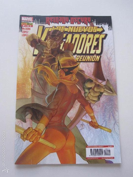 LOS NUEVOS VENGADORES REINADO OSCURO Nº 1 REUNIÓN PANINI COMICS C9X1 (Tebeos y Comics - Panini - Marvel Comic)