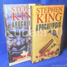 Cómics: APOCALIPSIS ·· STEPHEN KING ·· 2 COMICS · EL CAPITAN TROTAMUNDOS · PESADILLAS AMERICANAS. Lote 57437127