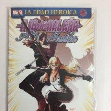 OJO DE HALCÓN Y PAJARO BURLÓN: FANTASMAS (Tomo Único) - La Edad Heroica Héroes Marvel - PANINI