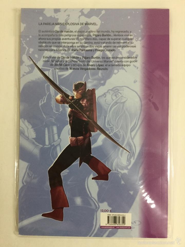 Cómics: OJO DE HALCÓN Y PAJARO BURLÓN: FANTASMAS (Tomo Único) - La Edad Heroica Héroes Marvel - PANINI - Foto 2 - 39910120