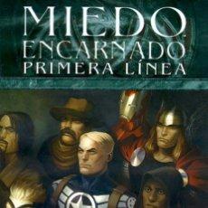 Cómics: MIEDO ENCARNADO PRIMERA LÍNEA LOTE PACK DEL Nº 1 AL Nº 5 DE PANINI COMICS - MARVEL COMICS. Lote 57524853