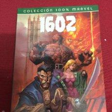 Cómics: COLECCION 100 % MARVEL 1602 , LOS 4 FANTASTICOS MUY BUEN ESTADO. Lote 243585095