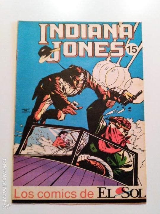 LOS COMICS DEL SOL. # 15. INDIANA JONES (Tebeos y Comics - Panini - Marvel Comic)