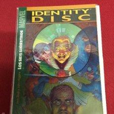 Comics: PANINI IDENTITY DISC LOS SEIS SINIESTROS MUY BUEN ESTADO. Lote 57930503