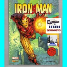 Cómics: IRON MAN - PANINI MARVEL COMICS - KURT BUSIEK SEAN CHEN PATRICK ZIRCHER - EXCELENTE. Lote 57975389