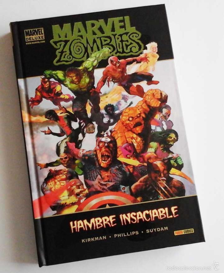MARVEL ZOMBIES, TOMO CON HAMBRE INSACIABLE, ORIGENES Y EL DEBUT DE LOS ZOMBIES EN FANTASTIC FOUR. (Tebeos y Comics - Panini - Marvel Comic)