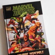 Cómics: MARVEL ZOMBIES, TOMO CON HAMBRE INSACIABLE, ORIGENES Y EL DEBUT DE LOS ZOMBIES EN FANTASTIC FOUR.. Lote 57997206