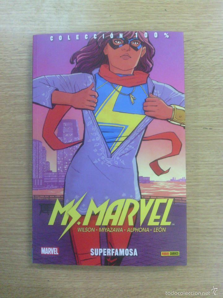 MS MARVEL #4 SUPERFAMOSA (100% MARVEL) (Tebeos y Comics - Panini - Marvel Comic)