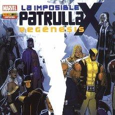 Cómics: LA IMPOSIBLE PATRULLA-X: REGÉNESIS - PANINI. Lote 58392604