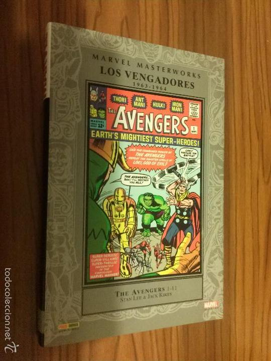 LOS VENGADORES 1963-1964. MARVEL MASTERWORKS. THE AVENGERS 1-11. STAN LEE. JACK KIRBY. TOMO. BUENO (Tebeos y Comics - Panini - Marvel Comic)