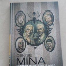 Cómics: PANINI NOIR: HERENCIA MALSANA - DENISE MINA & ANTONIO FUSO. Lote 58468569