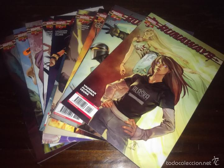 COMICS - RUNAWAYS. VOLUMEN 1. - COLECCIÓN COMPLETA. (Tebeos y Comics - Panini - Marvel Comic)