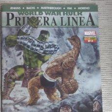 Cómics: WORLD WAR HULK. PRIMERA LÍNEA. Nº 2. PANINI. Lote 58620170