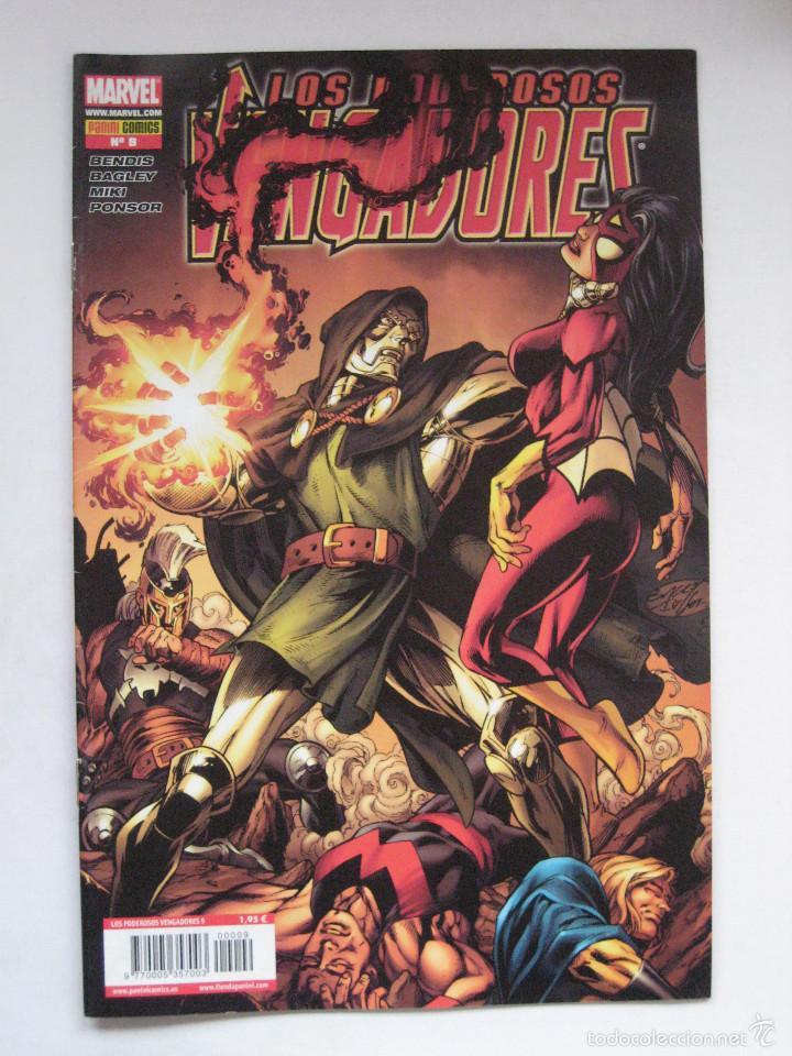 LOS PODEROSOS VENGADORES Nº 9. PANINI (Tebeos y Comics - Panini - Marvel Comic)