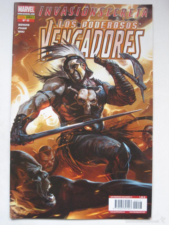 LOS PODEROSOS VENGADORES Nº 17. PANINI (Tebeos y Comics - Panini - Marvel Comic)