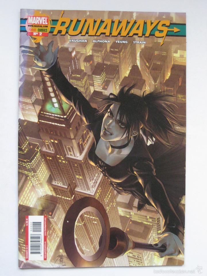 RUNAWAYS Nº 2. PANINI (Tebeos y Comics - Panini - Marvel Comic)