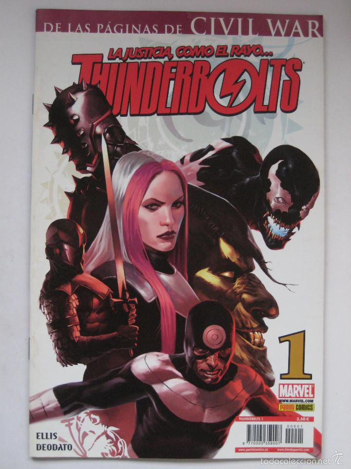 THUNDERBOLTS Nº 1. PANINI (Tebeos y Comics - Panini - Marvel Comic)