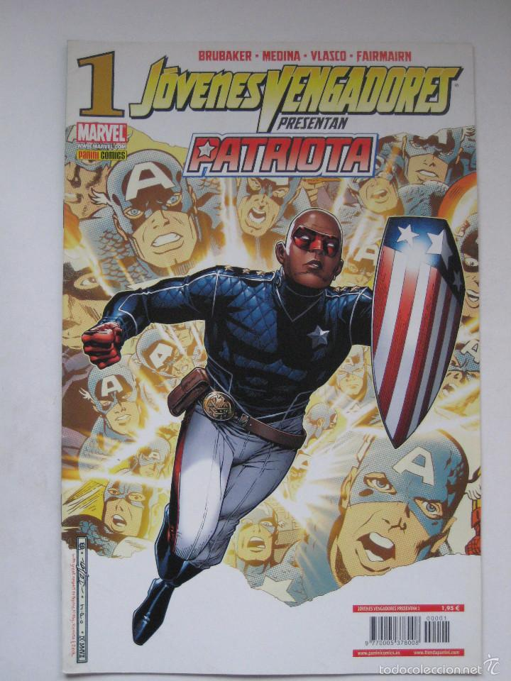 JOVENES VENGADORES PRESENTAN Nº 1. PANINI (Tebeos y Comics - Panini - Marvel Comic)