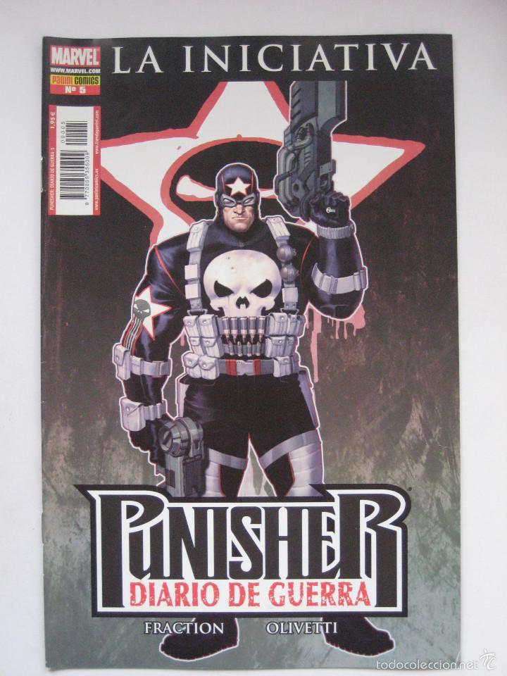 PUNISHER DIARIO DE GUERRA Nº 5. PANINI (Tebeos y Comics - Panini - Marvel Comic)