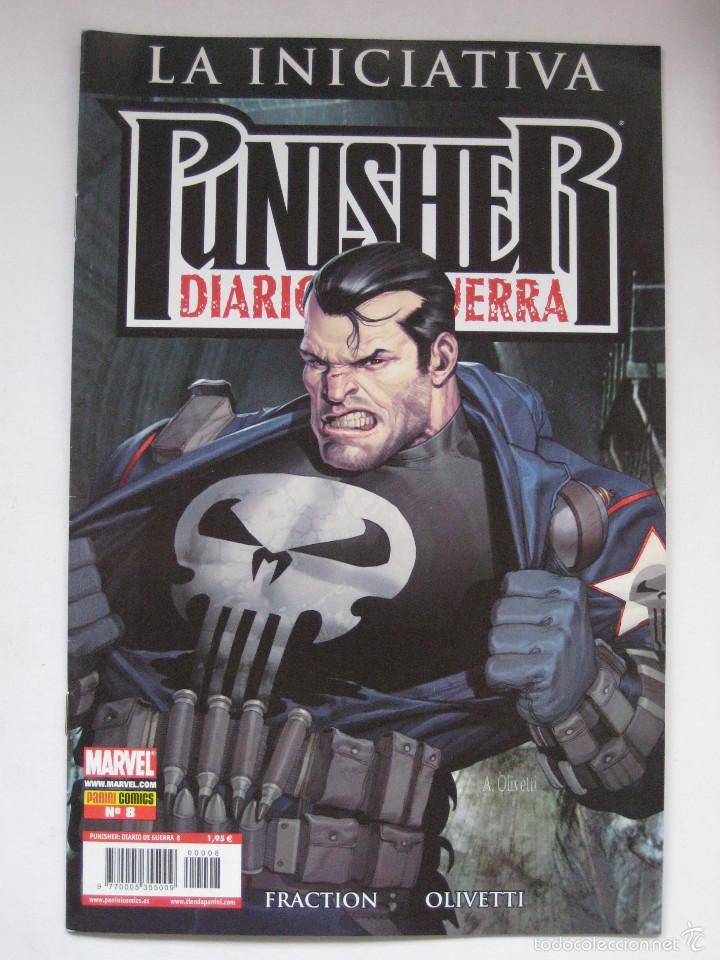 PUNISHER DIARIO DE GUERRA Nº 8. PANINI (Tebeos y Comics - Panini - Marvel Comic)