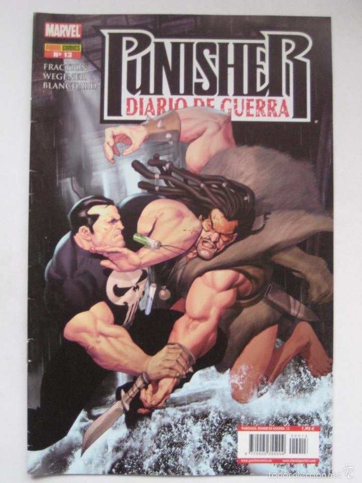PUNISHER DIARIO DE GUERRA Nº 13. PANINI (Tebeos y Comics - Panini - Marvel Comic)