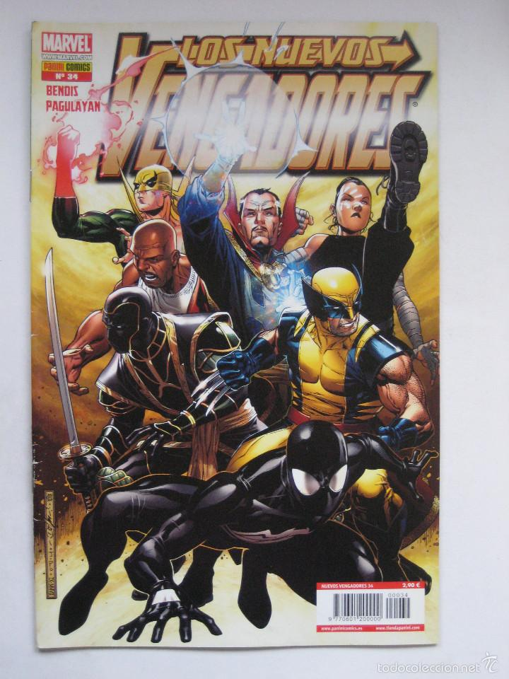 LOS NUEVOS VENGADORES Nº 34. PANINI (Tebeos y Comics - Panini - Marvel Comic)