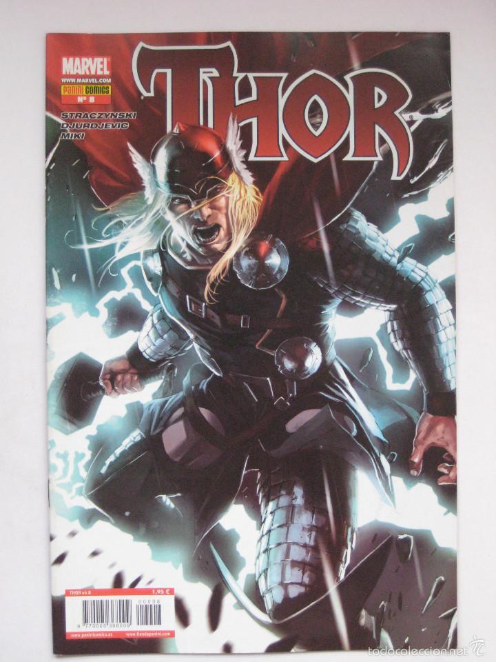 THOR Nº 8.VOL. 4. PANINI (Tebeos y Comics - Panini - Marvel Comic)