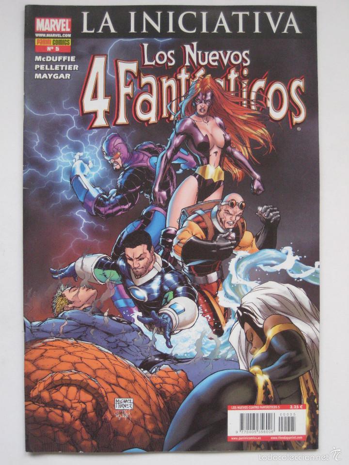 LOS NUEVOS 4 FANTASTICOS Nº 5. PANINI (Tebeos y Comics - Panini - Marvel Comic)