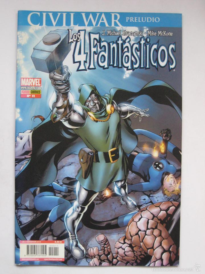 LOS 4 FANTASTICOS Nº 11. VOL. 6. PANINI (Tebeos y Comics - Panini - Marvel Comic)