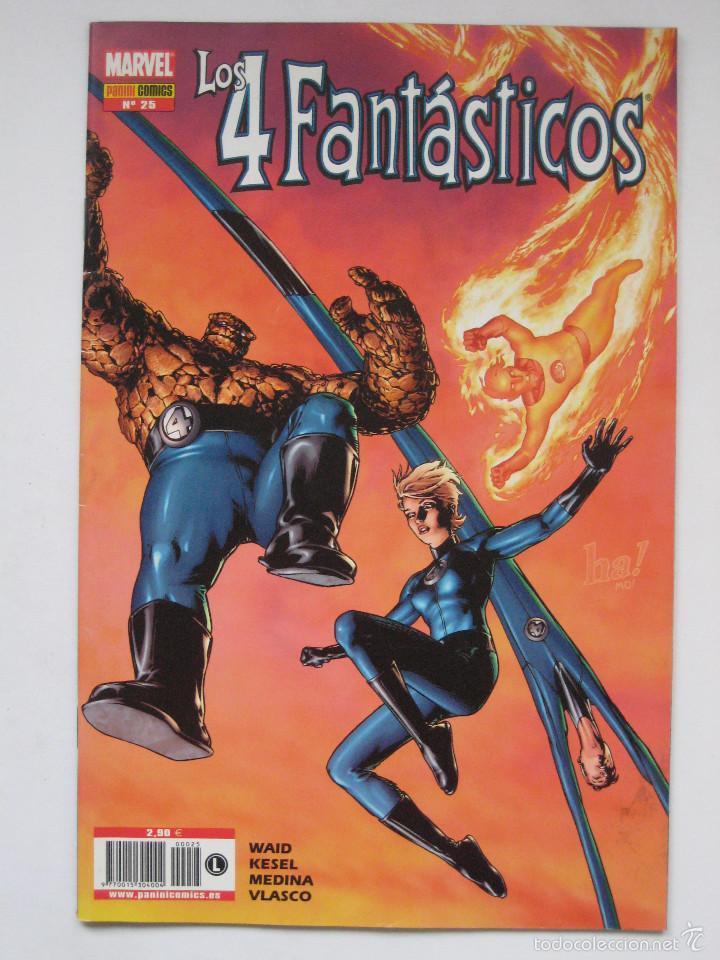 LOS 4 FANTASTICOS Nº 25. PANINI (Tebeos y Comics - Panini - Marvel Comic)