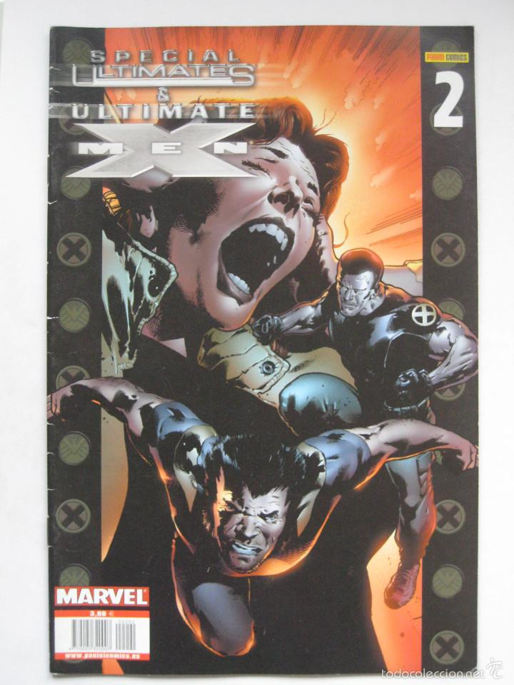 SPECIAL ULTIMATES & ULTIMATE X MEN Nº 2. PANINI (Tebeos y Comics - Panini - Marvel Comic)