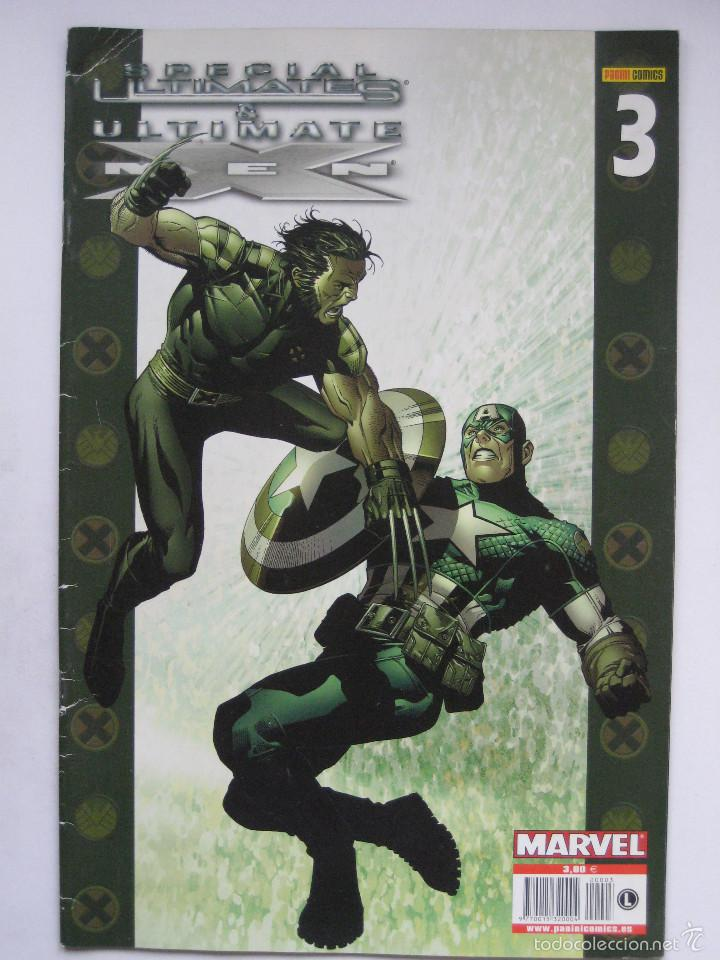 SPECIAL ULTIMATES & ULTIMATE X MEN Nº 3. PANINI (Tebeos y Comics - Panini - Marvel Comic)
