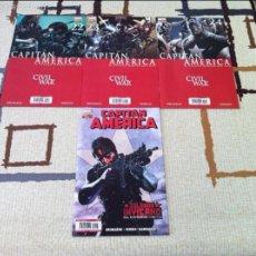 Cómics: CIVIL WAR. CAPITAN AMERICA. 4 NÚMEROS DE ESTA SERIE. IMPECABLES.. Lote 58953930