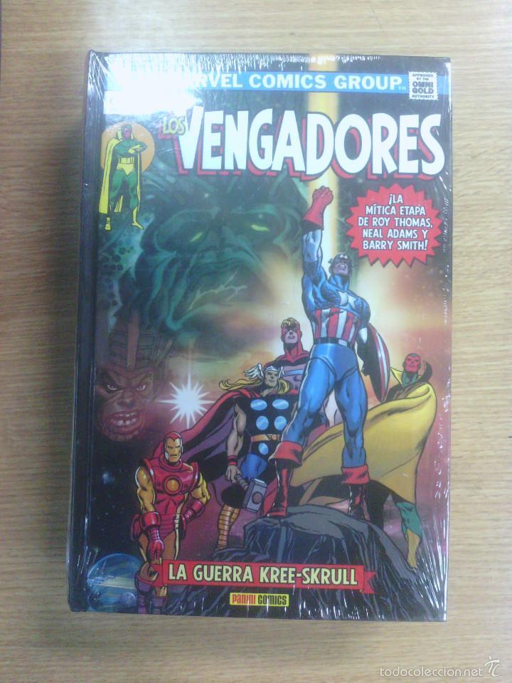 VENGADORES #5 LA GUERRA KREE-SKRULL (MARVEL GOLD OMNIBUS) (Tebeos y Comics - Panini - Marvel Comic)
