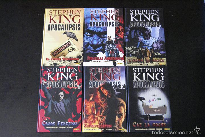APOCALÍPSIS DE STEPHEN KING COMPLETA, 6 NºS. PANINI, 2011. TAPA DURA. EN PERFECTO ESTADO. (Tebeos y Comics - Panini - Otros)