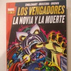 Cómics: LOS VENGADORES-LA NOVIA Y LA MUERTE - MARVEL GOLD-TOMO-PANINI. Lote 60580051