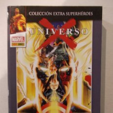 Cómics: UNIVERSO X-ALEX ROSS-TOMO COLECCION EXTRA SUPERHÉROES-PANINI-MARVEL. Lote 60582731