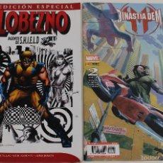 Cómics: LOBEZNO, AGENTE DE S.H.I.E.L.D, Nº 4. DINASTIA DE M, Nº 2. MARVEL COMICS.. Lote 61203087