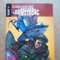 Cómics: ARCHER & ARMSTRONG Nº 1 - EL CÓDIGO MIGUEL ÁNGEL - UNIVERSO VALIANT - PANINI Y ALETA - JMV. Lote 61282735