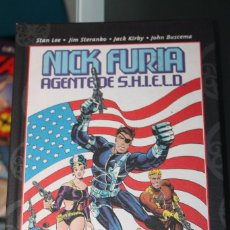 Cómics: NICK FURIA AGENTE DE SHIELD TOMO BEST OF MARVEL ESSENTIALS PANINI. Lote 61444151