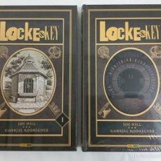Cómics: LOCKE & KEY OMNIBUS 1 Y 2 (COLECCIÓN COMPLETA) - JOE HILL, GABRIEL RODRÍGUEZ - PANINI. Lote 195160597