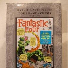 Cómics: MARVEL MASTERWORKS-LOS 4 FANTASTICOS-PANINI COMICS-DEL 1 AL 9 ORIGINALES-TOMO I TAPA DURA. Lote 62080880