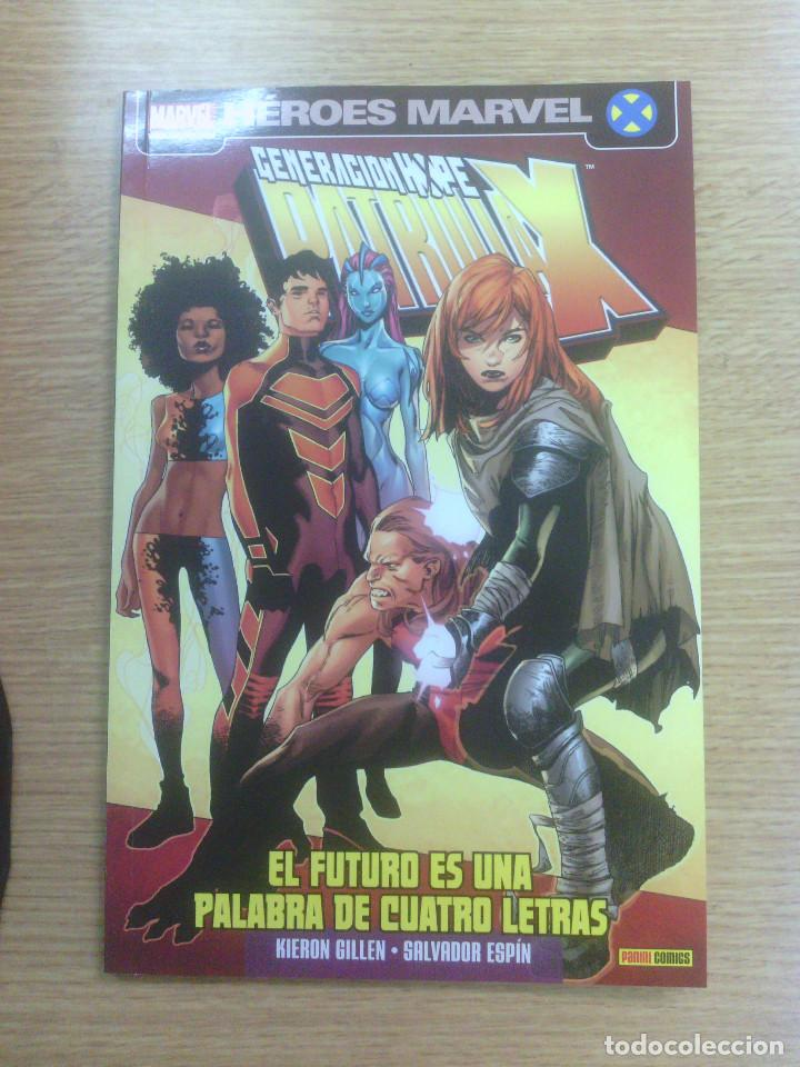 PATRULLA X GENERACION HOPE #1 EL FUTURO ES UNA PALABRA DE CUATRO LETRAS (Tebeos y Comics - Panini - Marvel Comic)