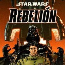Cómics: STAR WARS REBELIÓN - COLECCIÓN COMPLETA 3 NÚMEROS - PLANETA. Lote 63732763