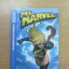 Cómics: MS MARVEL #1 LO MEJOR DE LO MEJOR. Lote 134126409