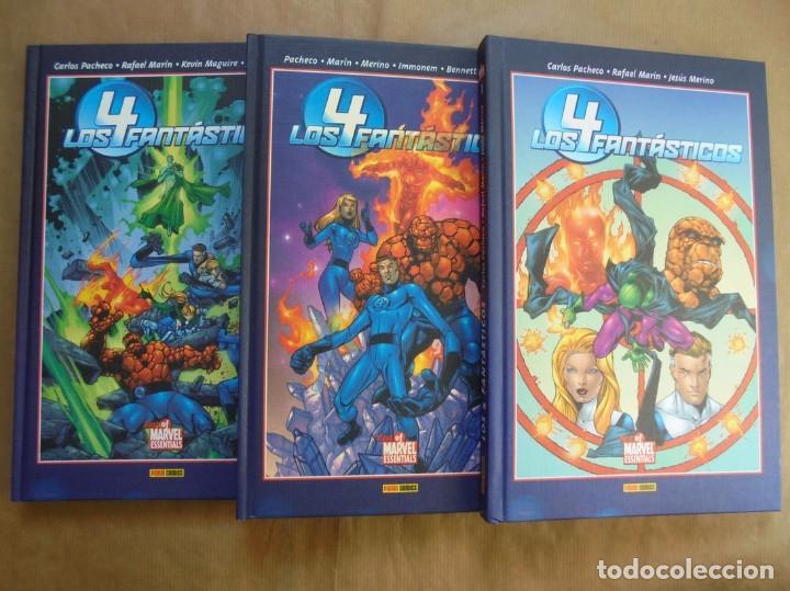 LOS 4 FANTÁSTICOS - BEST OF MARVEL 1 A 3 COMPLETA - PACHECO Y MARÍN - PANINI - JMV (Tebeos y Comics - Panini - Marvel Comic)