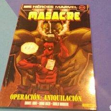 Cómics: MASACRE DEADPOOL HEROES MARVEL 11 EXCELENTE ESTADO. Lote 68735478