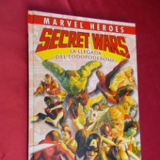 Cómics: MARVEL HEROES. Nº 11. SECRET WARS. LA LLEGADA DEL TODOPODEROSO.. PANINI.. Lote 68741833