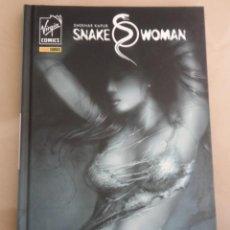 Cómics: SHEKHAR KAPUR: SNAKE WOMAN - POSIBLE ENVÍO GRATIS - PANINI / VIRGIN COMICS - SNAKEWOMAN. Lote 68872017